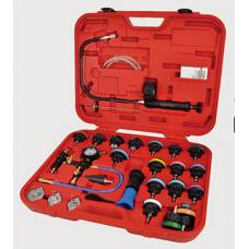 К-кт инструменти за проверка херметичноста на радиаторите 28 части Toptul